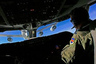 В кабине Boeing E-4