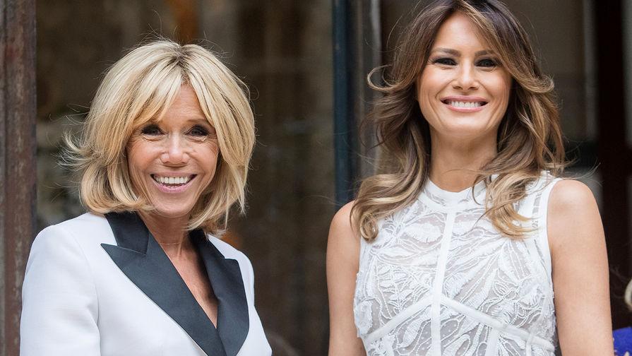 Чем различается стиль первых леди США и Франции