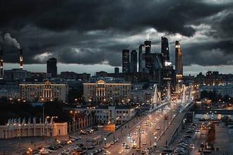 Во время непогоды в Москве, 15 августа 2018 года