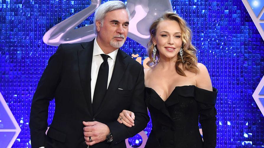 Певица Альбина Джанабаева и певец Валерий Меладзе
