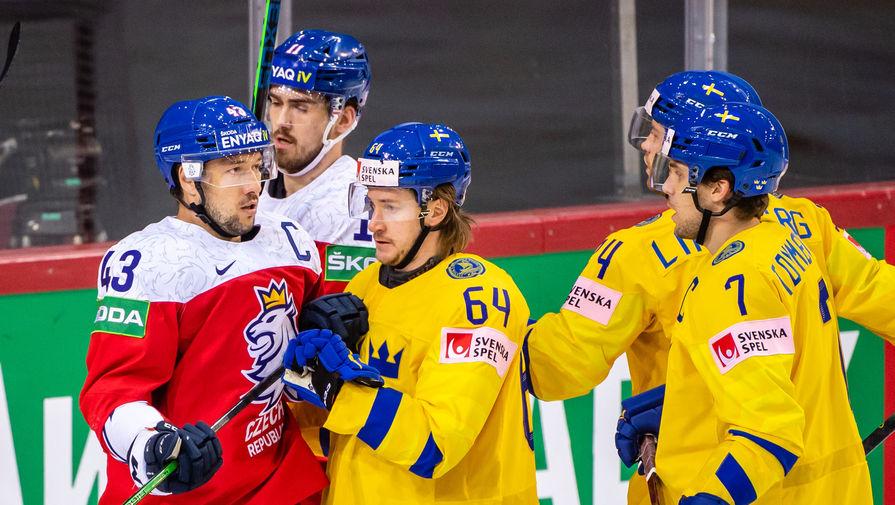 Эпизод матча Швеция- Чехия