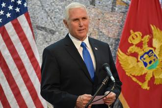 Вице-президент США Майк Пенс в Черногории, 2 августа 2017 года