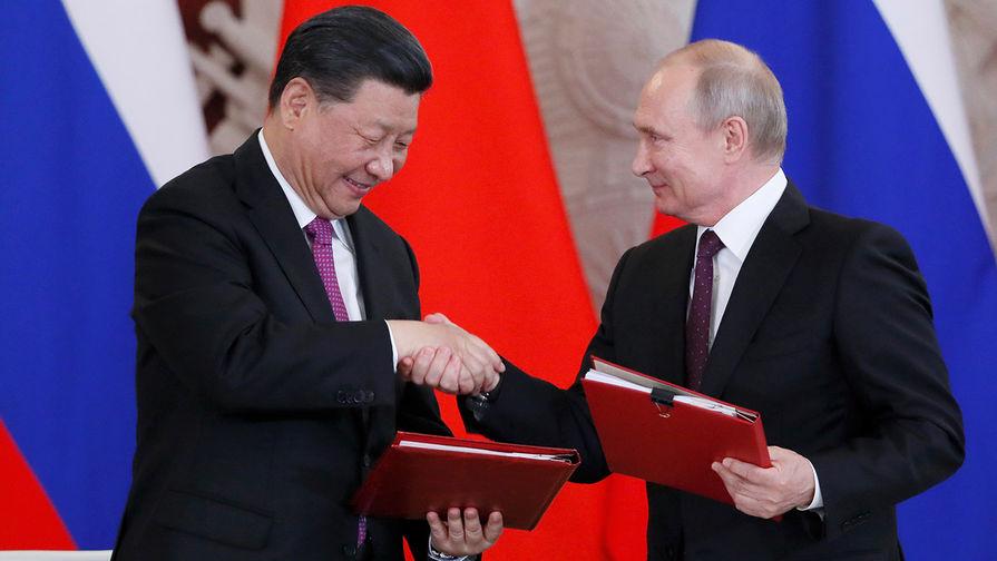 Си Цзиньпин заявил о важности стратегического партнерства с Россией