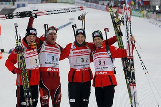 Сборная Норвегии — чемпион эстафеты
