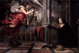 Тициан. Благовещение