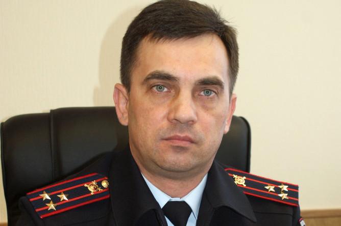 Глава полиции Тюмени Владимир Рябенко