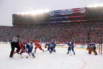 В НХЛ надеются, что «Зимняя классика» — 2014 станет самой посещаемой игрой в истории хоккея