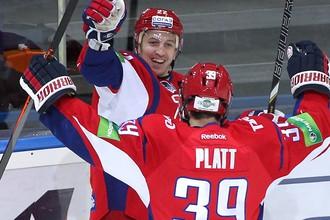 «Локомотив» празднует заброшенную шайбу