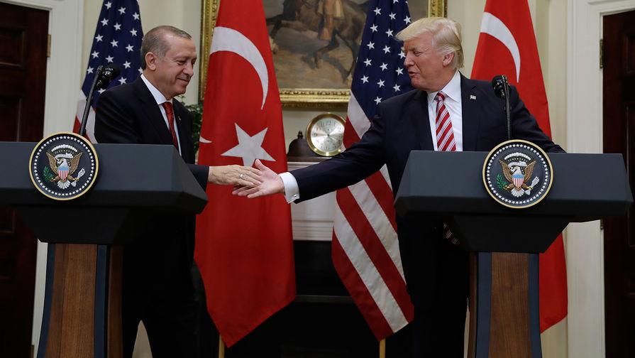 Трамп и Эрдоган обсудили ситуацию в Сирии