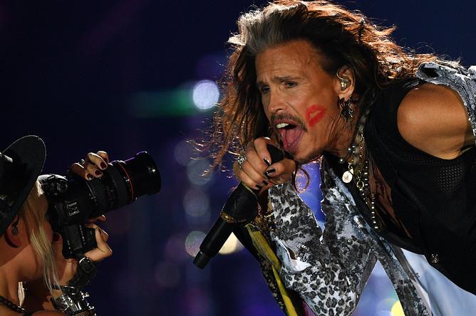 Прощальный концерт группы Aerosmith в Москве