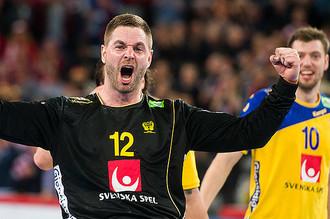 Вратарь сборной Швеции по гандболу Андреас Палицка