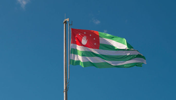 Кандидат в президенты Абхазии, лидер Блока оппозиционных сил Аслан Бжания
