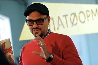 Режиссер Кирилл Серебренников на пресс-конференции, посвященной открытию проекта «Платформа» на «Винзаводе», 2011 год