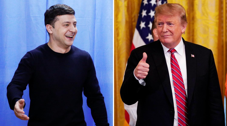 Зеленский поблагодарил Трампа за приглашение в США