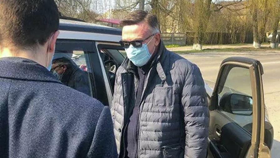 Задержание Леонида Кожары