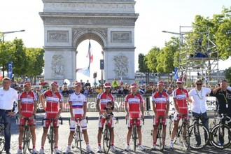 Команда «Катюша» на «Тур де Франс»