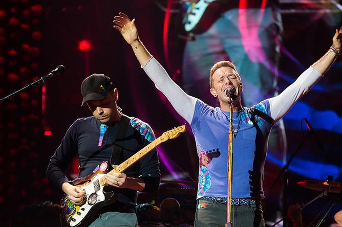 Группа Coldplay ($115,5 млн)