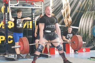 Андрей Драчев (на переднем плане)