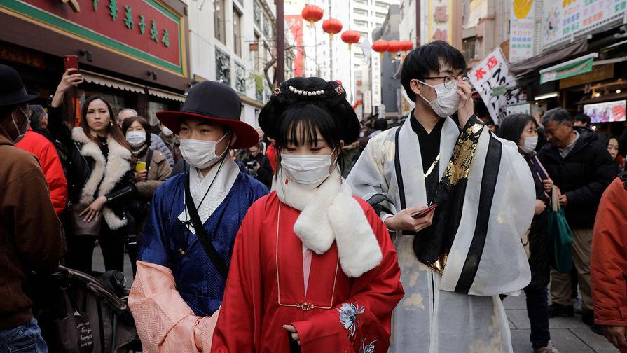 Празднование Нового года по лунному календарю в Токио, Япония, 25 января 2020 года