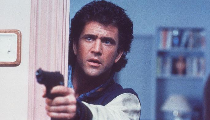 Мел Гибсон в фильме «Смертельное оружие 2» (1989)