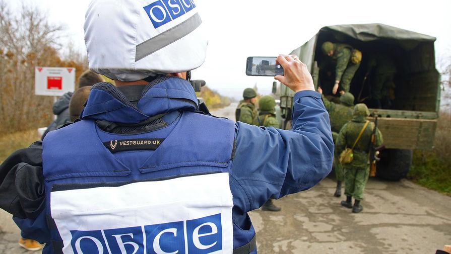 Миссия ОБСЕ сообщила об обстреле своего беспилотника в Донбассе