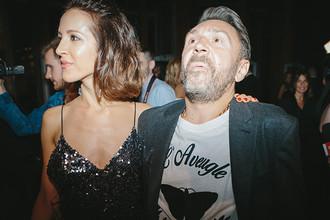 Сергей Шнуров с супругой Матильдой, 2016 год