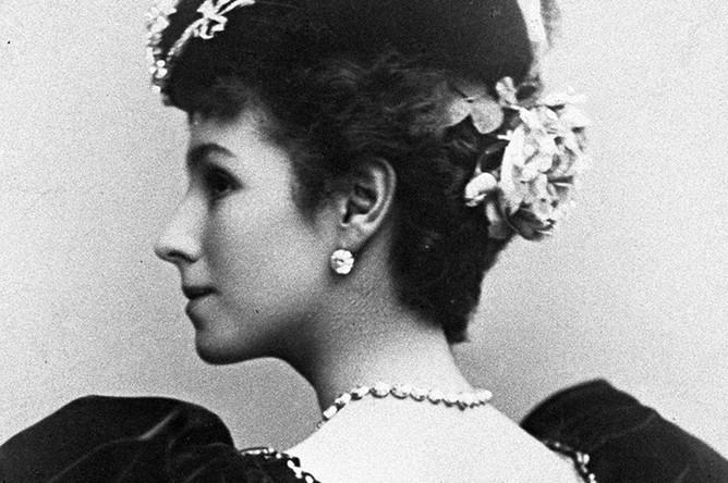 Солистка балета Мариинского театра Матильда Кшесинская, 1898 год