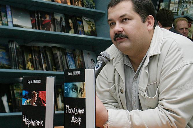Сергей Лукьяненко в Московском доме книги, 2006 год