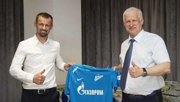 Сергей Семак новый главный тренер «Зенита»