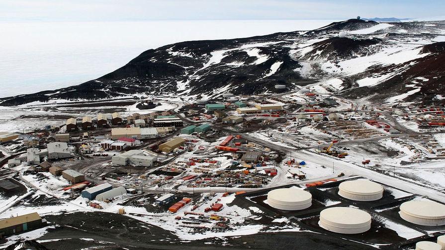 В Антарктиде на станции Мак-Мердо погибли двое рабочих