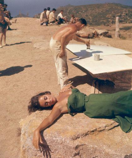 Элизабет Тейлор в фильме «Внезапно, прошлым летом» (1959)