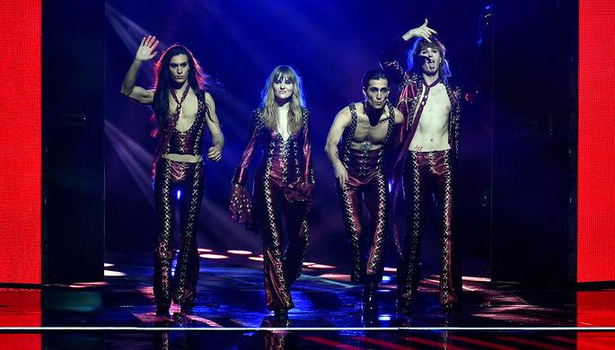 Кожа винного цвета: кто одевает победителей «Евровидения»