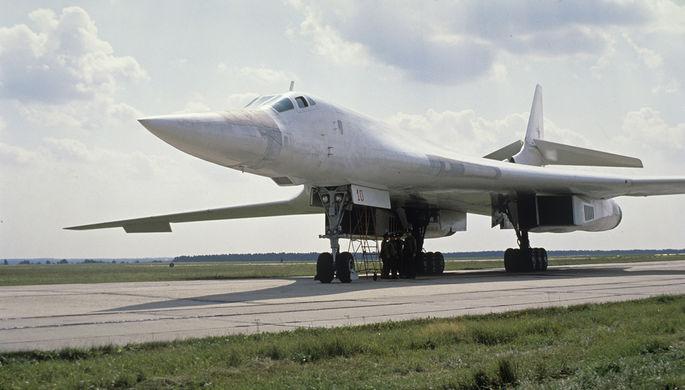 Советский сверхзвуковой стратегический бомбардировщик Ту-160, 1991 год