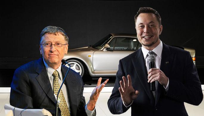 «Не в восторге»: Илон Маск раскритиковал Билла Гейтса