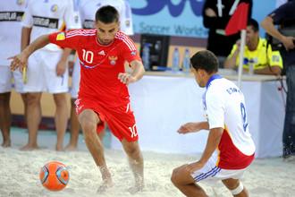 Сборная России по пляжному футболу одержала вторую победу в Межконтинентальном Кубке