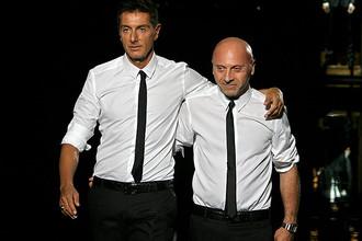 Итальянский суд приговорил знаменитых дизайнеров Доменико Дольче и Стефано Габбана к году и восьми месяцам тюремного заключения