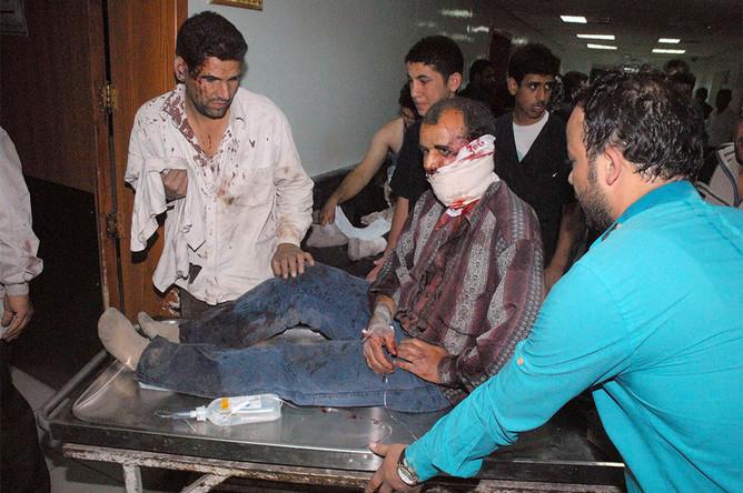 Жертвами теракта под Дамаском стало более 40 человек