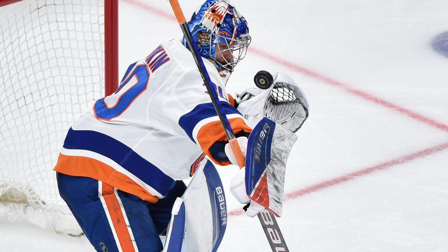 Российский вратарь подписал контракт с клубом НХЛ на $12 млн