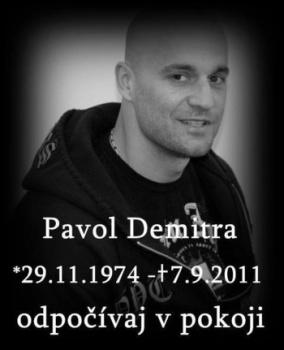 Мемориальная доска в память о Паволе Демитре
