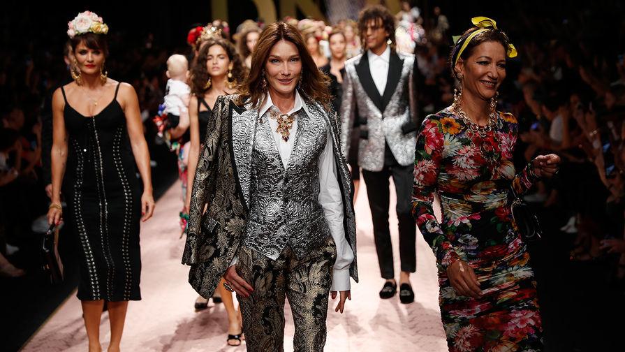 93e78e2cc17 Неделя моды в Милане подошла к концу  итальянские дизайнеры предложили свое  видение модных трендов