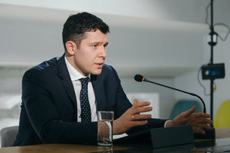 Губернатор Калининградской области Антон Алиханов в редакции «Газеты.Ru»
