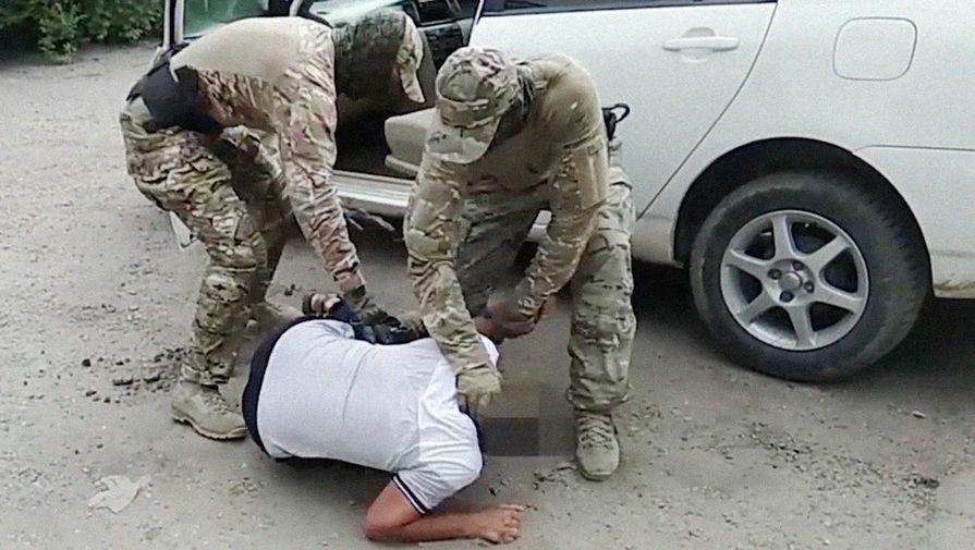 ФСБ опубликовало видео задержания готовившего теракт в ...