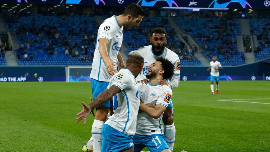 Зенит разгромил Мальме в матче группового этапа Лиги чемпионов