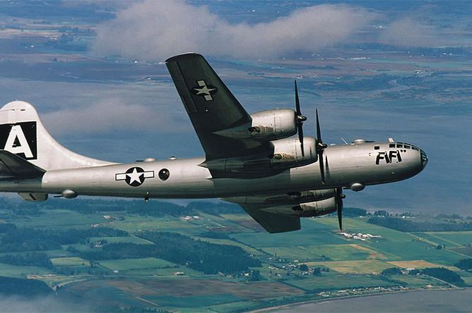 Стратегический бомбардировщик Boeing B-29 Superfortress