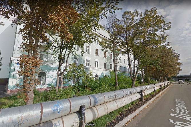 Дом 68 по набережной Дубровинского в Орле на картах Google, сентябрь 2016 года