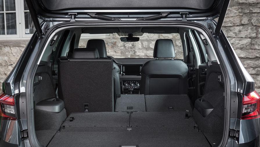 Опционально для Skoda Kodiaq предлагается электропривод двери багажного отсека. Он позволяет...
