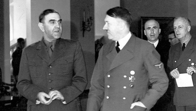 Анте Павелич и Адольф Гитлер