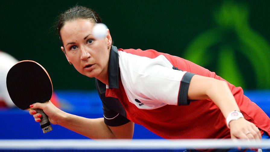 Российский игрок в настольный теннис Полина Михайлова