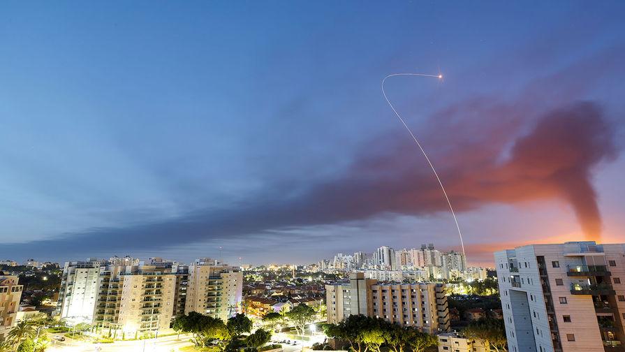 Ракета, запущенные из сектора Газа в сторону Израиля, 11 мая 2021 года
