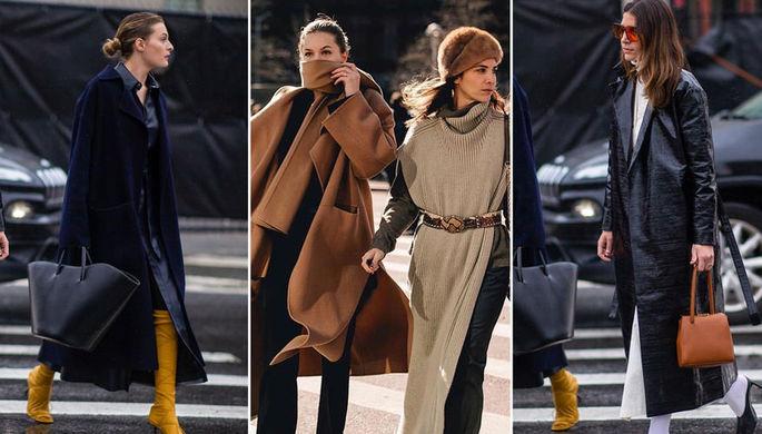 Не умереть от холода: как ходят на Неделю моды